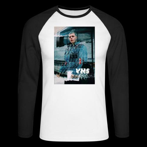 Yung Lean Sadboys Glitch - Men's Long Sleeve Baseball T-Shirt