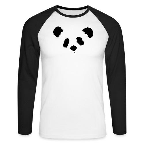 panda - Men's Long Sleeve Baseball T-Shirt