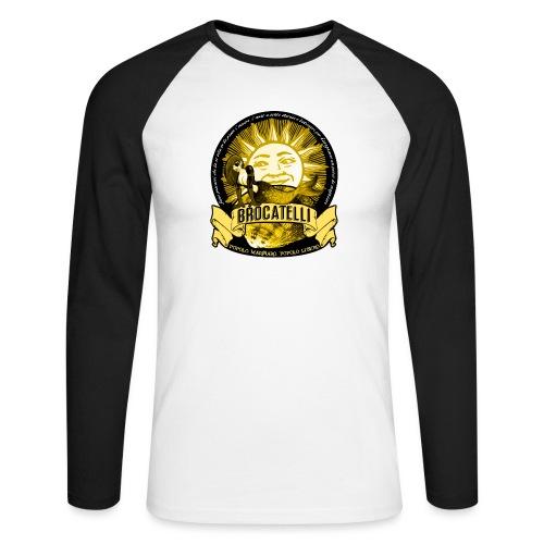 T-Shirt PESCATORE - Maglia da baseball a manica lunga da uomo
