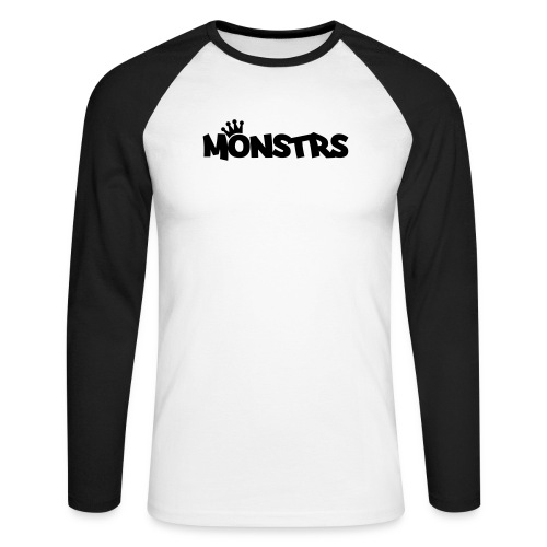 monstr royale - Männer Baseballshirt langarm