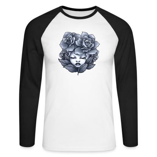 Flower Head - T-shirt baseball manches longues Homme