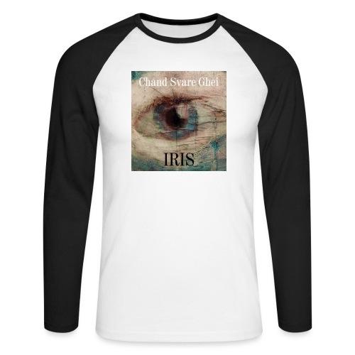Iris - Langermet baseball-skjorte for menn