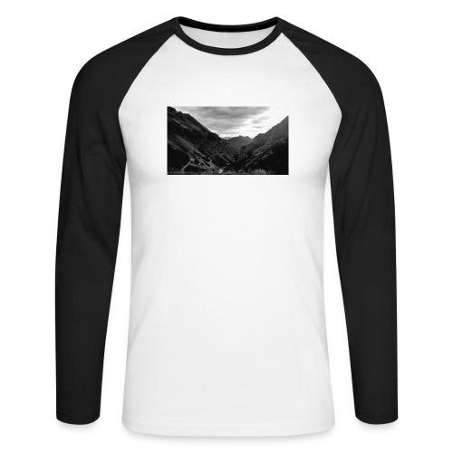 Wanderlust - Mannen baseballshirt lange mouw