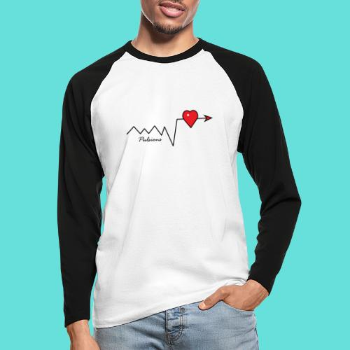 Pulsions - T-shirt baseball manches longues Homme
