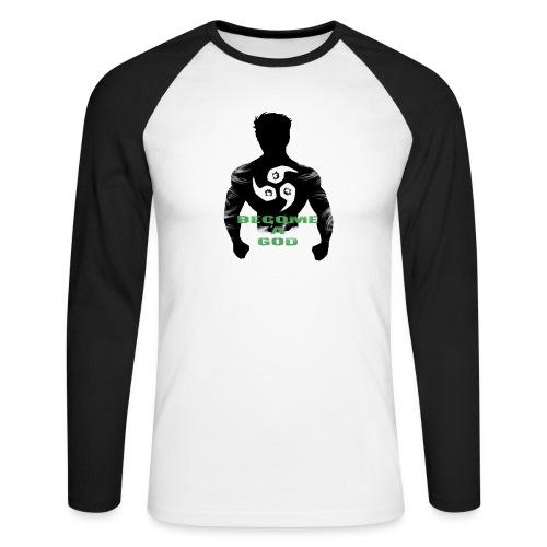 Raijin Become_A_God - Männer Baseballshirt langarm