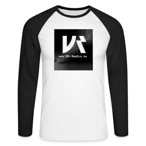 logo spreadshirt - Männer Baseballshirt langarm