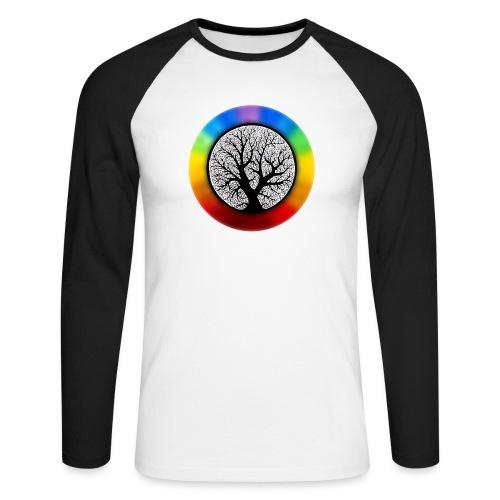 tree of life png - Mannen baseballshirt lange mouw