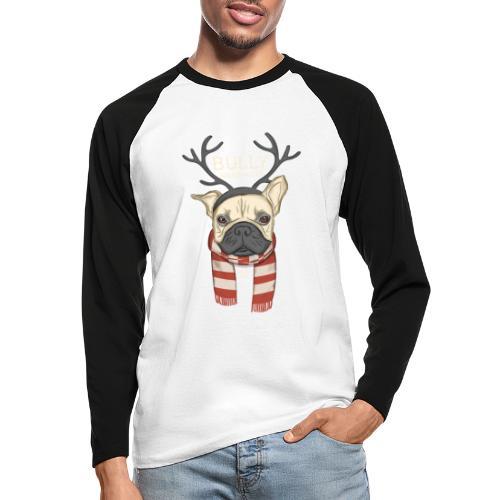 Bully Weihnacht - Männer Baseballshirt langarm