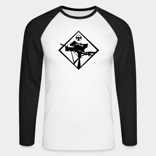exit maerchenland shirt kamera - Men's Long Sleeve Baseball T-Shirt