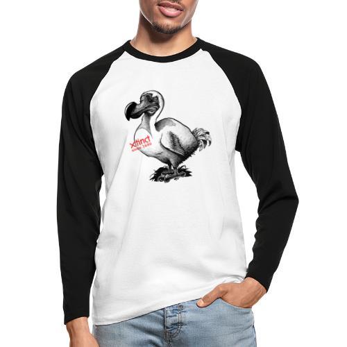 Dodo - Männer Baseballshirt langarm