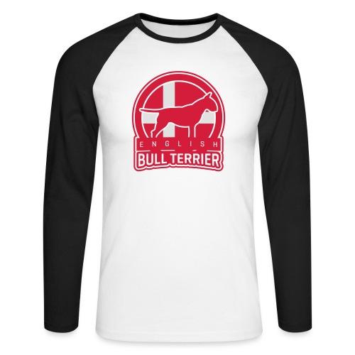 BULL TERRIER Denmark DANSK - Männer Baseballshirt langarm