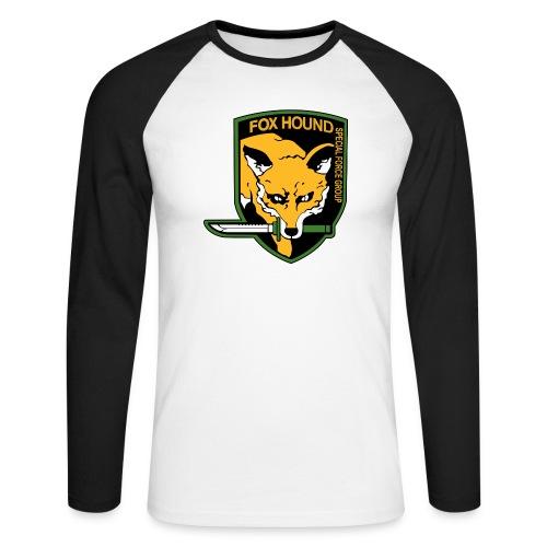 Fox Hound Special Forces - Miesten pitkähihainen baseballpaita