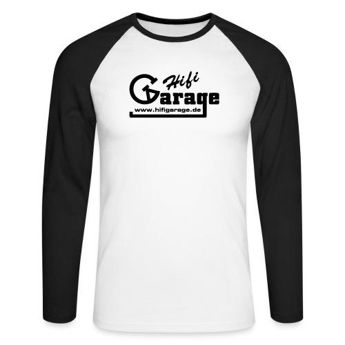 hifigarage sw - Männer Baseballshirt langarm