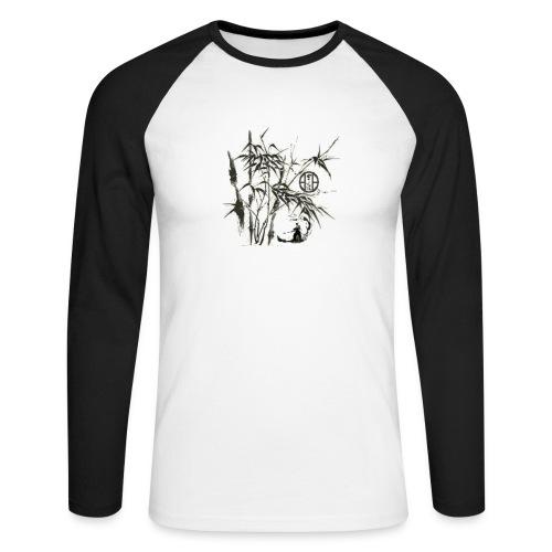 bambou5 GIF - T-shirt baseball manches longues Homme