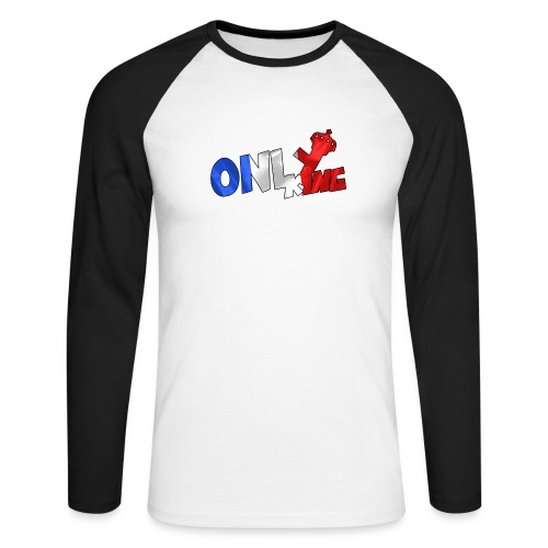 Logo ONLY KING edition francaise - T-shirt baseball manches longues Homme