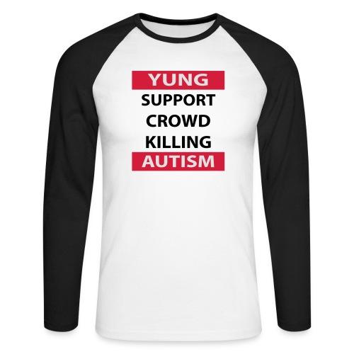 Crowdkill - Mannen baseballshirt lange mouw