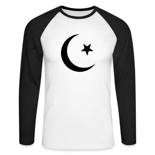 islam-logo - Men's Long Sleeve Baseball T-Shirt