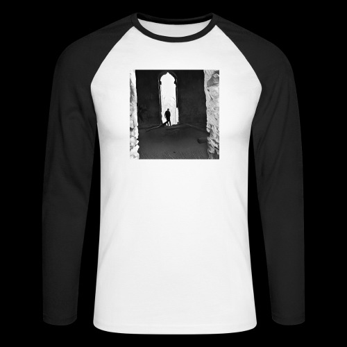 Misted Afterthought - Men's Long Sleeve Baseball T-Shirt