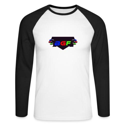 The BGF's ARMY logo! - Men's Long Sleeve Baseball T-Shirt