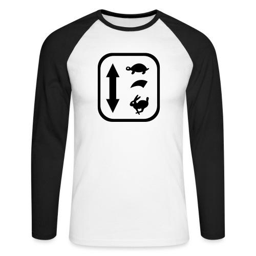 traktor schaltung - Männer Baseballshirt langarm