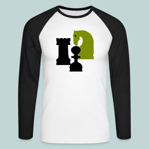 Figurenguppe1 - Männer Baseballshirt langarm