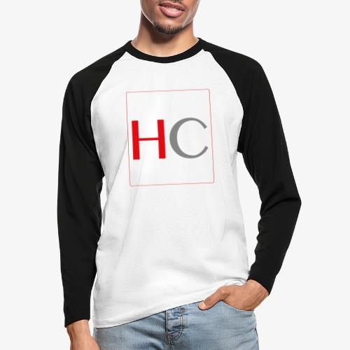 hc png - T-shirt baseball manches longues Homme