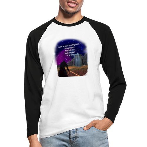 Bad Parking - Men's Long Sleeve Baseball T-Shirt
