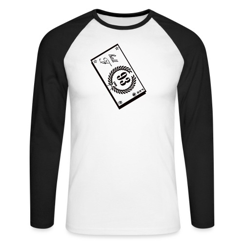 prm hall f - T-shirt baseball manches longues Homme