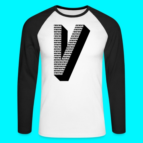 FIVES big V - T-shirt baseball manches longues Homme
