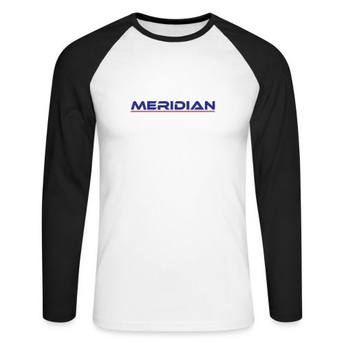 Meridian - Maglia da baseball a manica lunga da uomo