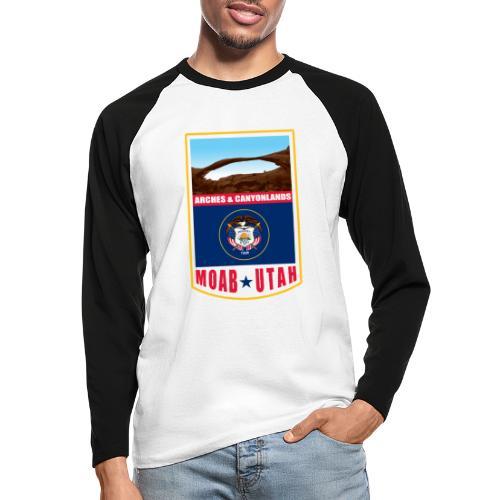 Utah - Moab, Arches & Canyonlands - Men's Long Sleeve Baseball T-Shirt