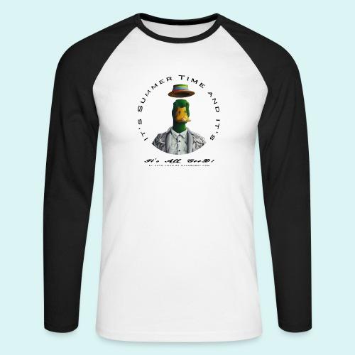 El Pato Loco - Men's Long Sleeve Baseball T-Shirt