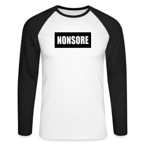 nonsore - Langærmet herre-baseballshirt