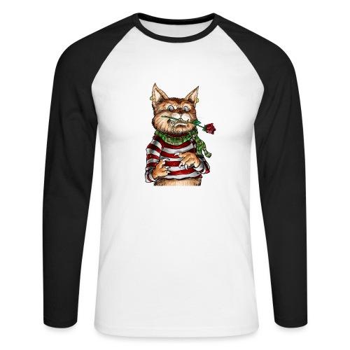 T-shirt - Crazy Cat - T-shirt baseball manches longues Homme