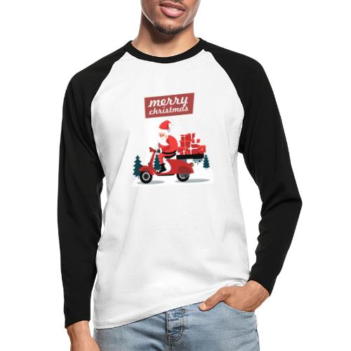 Gift 04 - T-shirt baseball manches longues Homme