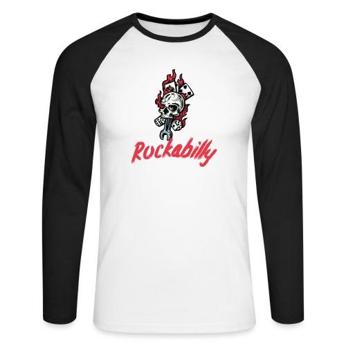 rockabilly - T-shirt baseball manches longues Homme