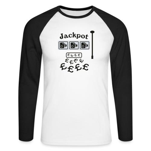 Speed Camera Jackpot - Men's Long Sleeve Baseball T-Shirt