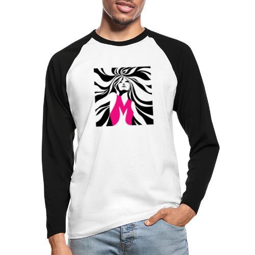 Mélographie - T-shirt baseball manches longues Homme