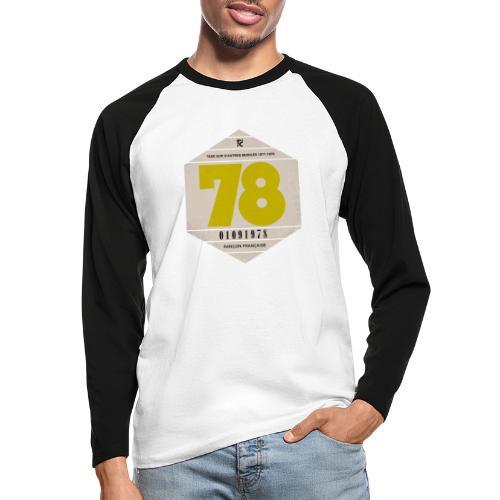 Vignette automobile 1978 - T-shirt baseball manches longues Homme