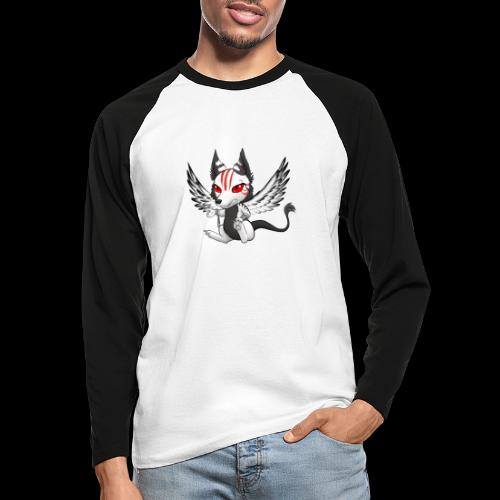 Démon Wolfire - T-shirt baseball manches longues Homme