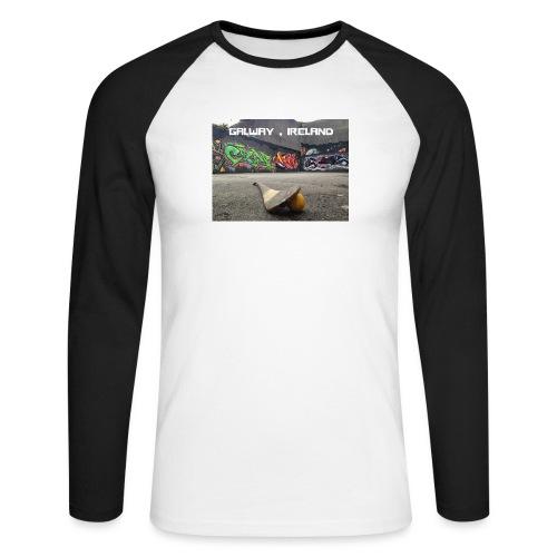 GALWAY IRELAND BARNA - Men's Long Sleeve Baseball T-Shirt