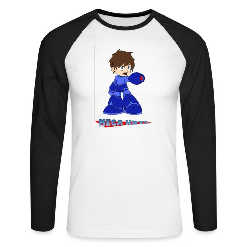 MegaKryl! - Men's Long Sleeve Baseball T-Shirt