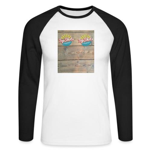 TenSlippers - Mannen baseballshirt lange mouw