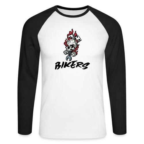 bikers 66 - T-shirt baseball manches longues Homme
