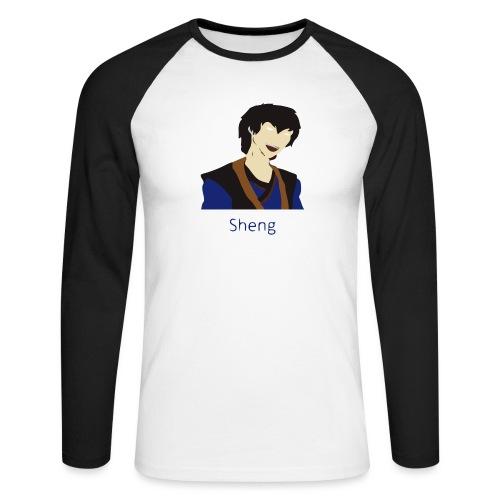 Sheng Canon - Langærmet herre-baseballshirt