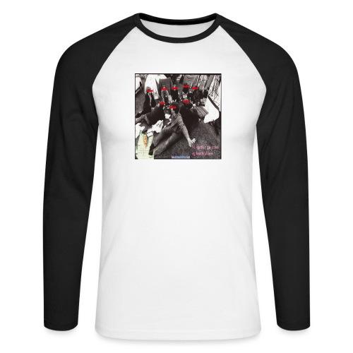 Bjørvika Trassensemble - Langermet baseball-skjorte for menn