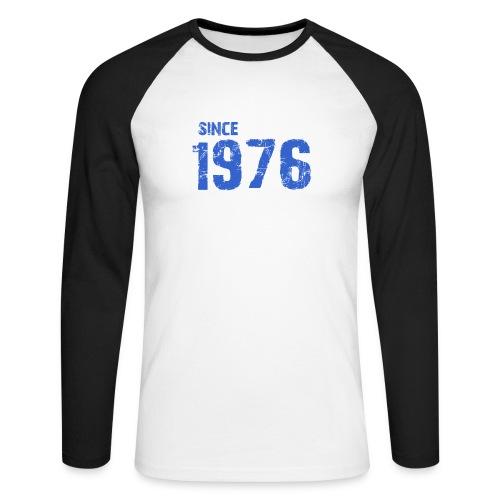 Since 1976 - Mannen baseballshirt lange mouw
