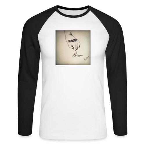 DerHardstyle.ch Hard_Core Techno - Männer Baseballshirt langarm