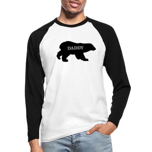 Daddy Bear - Men's Long Sleeve Baseball T-Shirt