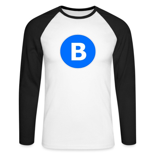 BluePrison - Langærmet herre-baseballshirt
